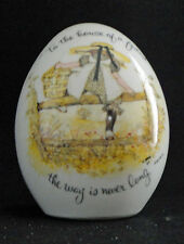Vintage Holly Hobbie Collectable Porelain Egg 1973 House Of A Friend