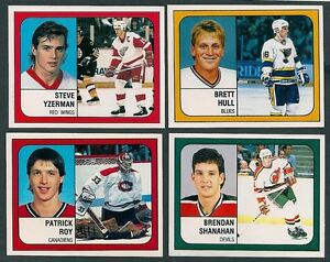 1988-89 Panini Complete Hockey Set of 408 MINT Loose Stickers