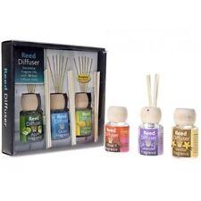 Pack de 3 flacons de parfum liquide et diffuseurs désodorisant d'huiles parfumées