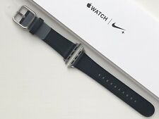 Apple Watch Leather Classic Buckle Strap 38/40mm BLACK **RARE**