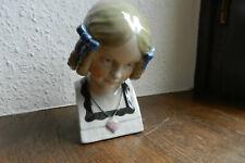Antike Jugendstil  Porzellan Figur Mädchenbüste um 1900 Josef kopp Karl Ens