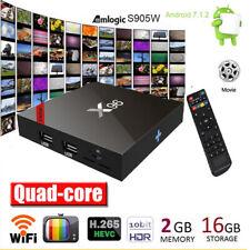X96 Smart Android 7.1.2 TV Box Quad Core 2 GB / 16 GB WiFi Lettore multimediale