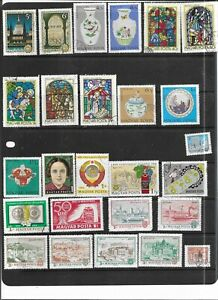 HUNGARY 1972. SELECTION OF 26. VERY FINE USED. AS PER SCAN