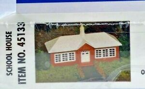 Bachmann Plasticville School House Building Model Kit HO 45133