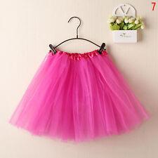 Summer Women Adult Teens Organza Dancewear Tutu Ballet Princess Party Skirt New
