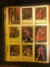 1990 SKYBOX NBA Basketball Trading Cards 240 Lot Binder Charles Barkley Rodman