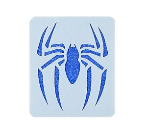 Spider Crafting Card making Face Painting Art Stencil 7cm x 6cm Reusable