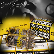 6GH8A 6U8A Tubes MATCHED PAIR NOS SYLVANIA BEST 7199 REPLACEMENT IF USE ADAPTER