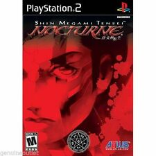 SHIN MEGAMI TENSEI NOCTURNE for Playstation 2 BRAND NEW SEALED