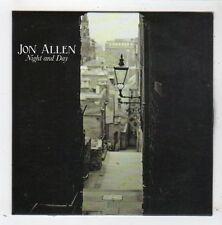(FZ184) Jon Allen, Night And Day - 2014 DJ CD