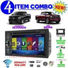 2014 2015 2016 SIERRA / SILVERADO DVD CD TOUCHSCREEN BLUETOOTH DOUBLE DIN STEREO