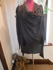 Amazing All Saints Ing Jumper Dress Grey Size 8 (8-12) Excellent Condition