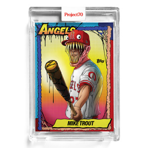 TOPPS PROJECT 70 #79 Mike Trout by Alex Pardee 🔥 In Hand SHIPS TODAY!!!