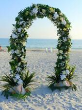 7.5ft Metal Garden White Arch Bridal Prom Floral Archway Venue Decoration