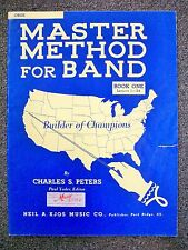Master Method for Band Book 1 Oboe