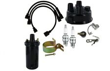 Tune Up Kit John Deere 420 430 440 Tractor With Usa Made Copper Wires Amp 6v Coil