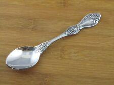 Unknown Manufacturer Teaspoon Roses UNF123 VGC Stainless Flatware Silverware