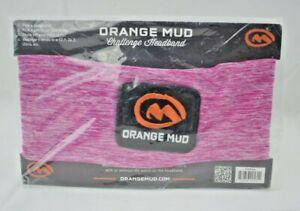 Orange Mud Challenge Headband with Orange Mud Patch - Fuchsia (New)