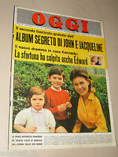 OGGI=1964/27=MARISA ALLASIO=DUILIO LOI=GIORGIO GABER=FELICE IPPOLITO CNEN=