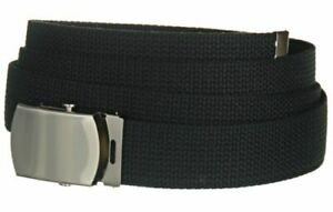 """1.5"""" Canvas Military Web Belt - Big and Tall Casual Sports Tactical Belt for Men"""