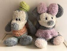 peluche doudou enfant Disney - Dingo & Minnie