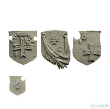 3 Templars Große Schilde - Heavy Large Shields Bitz Spellcrow