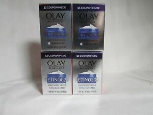 Olay regenerist retinol 24 night moisturizer .18 oz/5.0 g Travel Size (qty4)