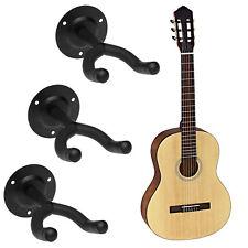 3x Gitarren Wandhalterung Gitarren Stativ Ständer Skateboard Halter Wandhaken
