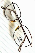 Fiorucci New Vintage 80s Metal Copper color frame Eyeglasses, Made in Italy