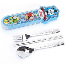 Thomas character perfect set / Thomas spoon fork chopsticks with case (standard)