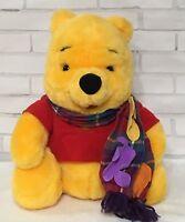 "Disney Winnie The Pooh 11"" Plush Blustery Day Stuffed Animal Mattel 1998"