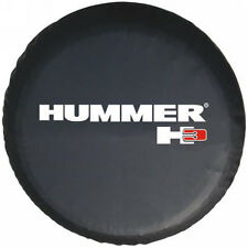 """New 16"""" Spare Tire Cover Wheel For Hummer H3 Size L Black"""
