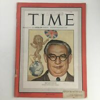 Time Magazine February 18 1946 Vol 47 #7 Trade Union Leader Ernest Bevin