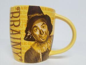 Wizard Of Oz Scarecrow Brainy Hallmark Collectable 12oz Coffee Mug Cup EUC