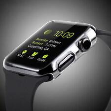 Apple iWatch 38mm Hart Silikon Schutzhülle Case Hülle Cover Bumper Transparent