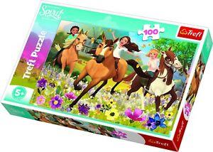 Trefl 100 Piece Kids Spirit Riding Free Follow Your Dreams Floor Jigsaw Puzzle