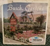 View Master A988  Busch Gardens Tampa Florida  Version A 3 Reel Set