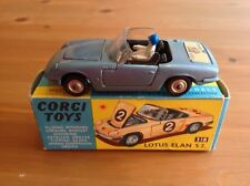 CORGI 318 LOTUS ELAN WITH DRIVER ORIGINAL AND BOXED