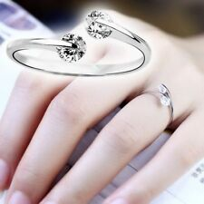 Silver Plated Cubic Zirconia Costume Rings