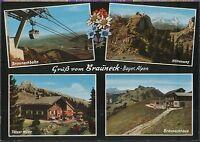 Alte Postkarte - Gruß vom Brauneck - Bayer. Alpen