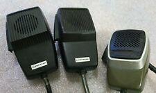 3x CB radio vintage microphones