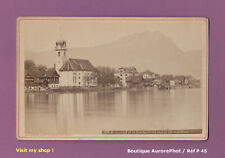 CDV FORMAT CABINET : SUISSE, BECKENRIED & LE BOUCHSERHORN, LAC 4 CANTONS  -P45