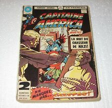 Vintage Heritage French Comics Books Capitaine America 1980 FREE SHIPPING