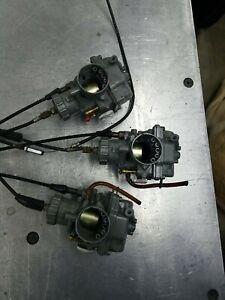 1974 Kawasaki H2 750 Carburetors - Carb CLEANED! Ready to run.