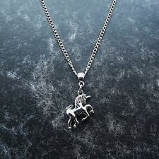 1 x Unicorn 16 Inch Silver Plated Necklace Pendant  Girl Children's