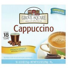 Grove Square French Vanilla Cappuccino K-Cups Keurig