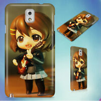 HAIRED FEMALE ANIME CHARACTER FIGURE HARD CASE FOR SAMSUNG GALAXY PHONES