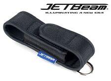 Nuevo Jetbeam 2 Funda Bolsa Linterna Antorcha Cartuchera (para Bc20 、 Ba10 、 PC20)