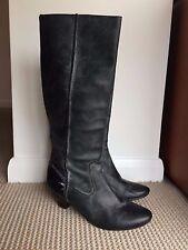 FRYE Cowboy Boots US 8.5 (UK 6 - 6.5 ) Frye Steffi Back Zip Long Leather Boots