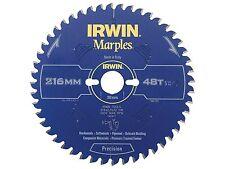 IRWIN IRW1897454 216 x 30mm 48-Teeth Irwin Marples Circular Saw Blade with ATB